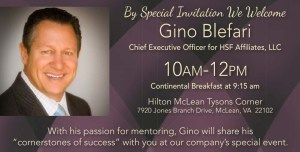 Berkshire Hathaway HomeServices PenFed Realty Presents Gino Blefari